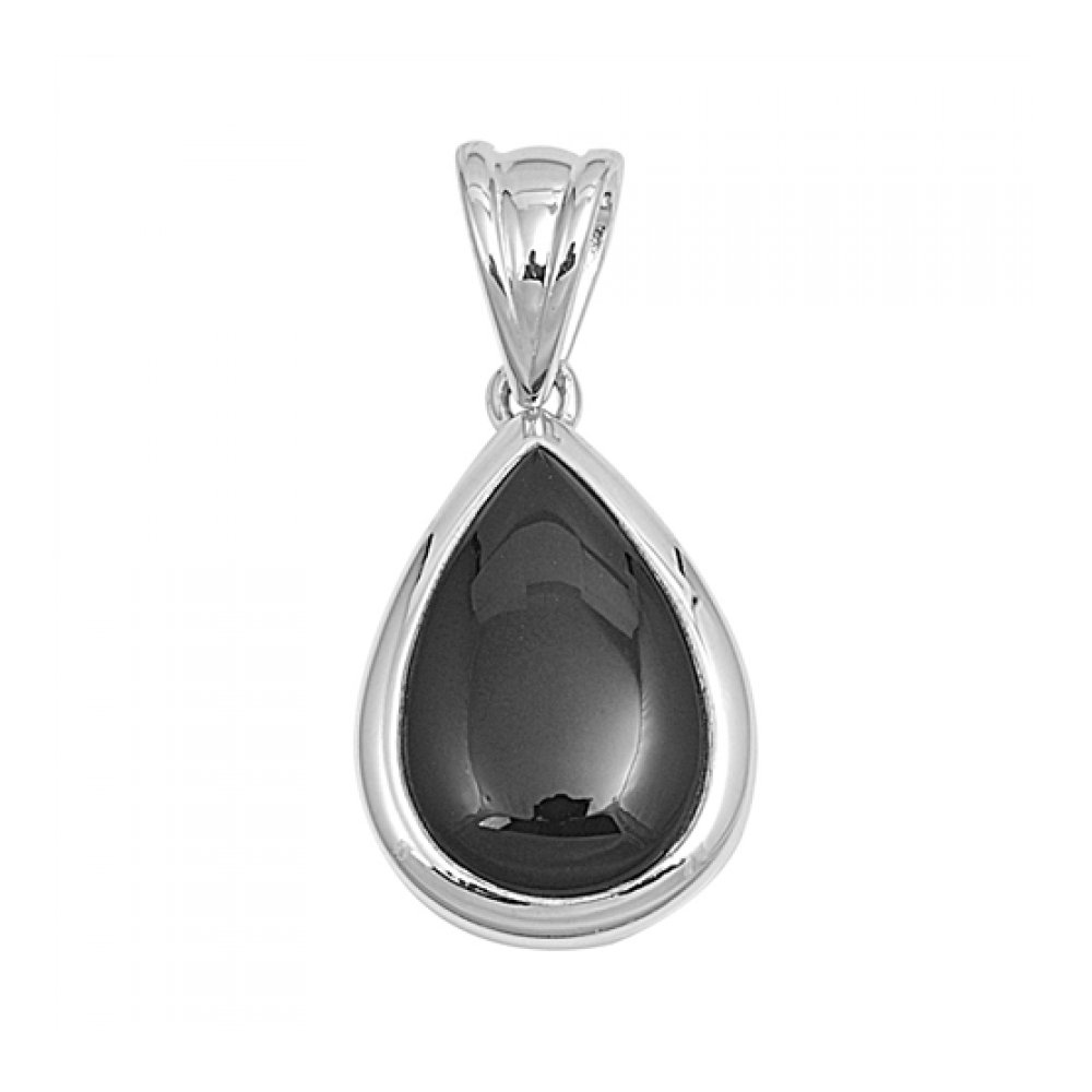925 Sterling Silver Pendant With Stone