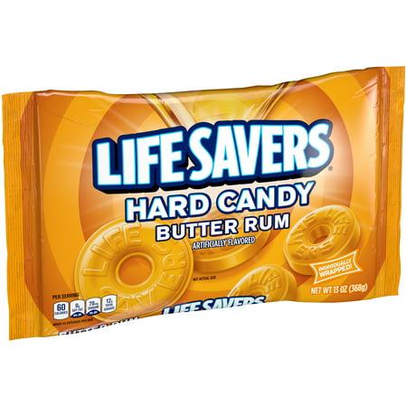 Rum Matusalem - Life Savers Butter Rum Hard Candy Bag, 13 Ounce