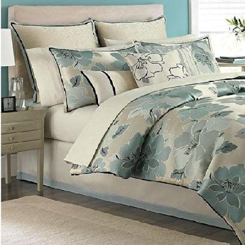 Martha Stewart Garden Retreat 9 piece King Comforter Bed ...