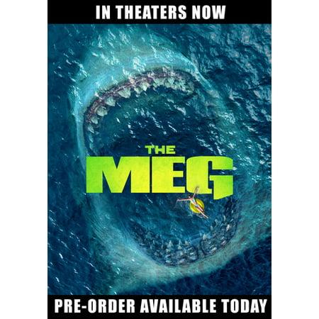The Meg (DVD) (Mgm 6 Horror Movie Dvd)