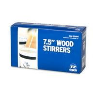 """Wood Coffee 7.5"""" Coffee Stirrers - Box of 500"""
