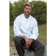 0481-2504 Barbados Chef Coat in White - Lagre