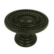 Stone Mill Hardware - Antique Black Ashton Cabinet Knob
