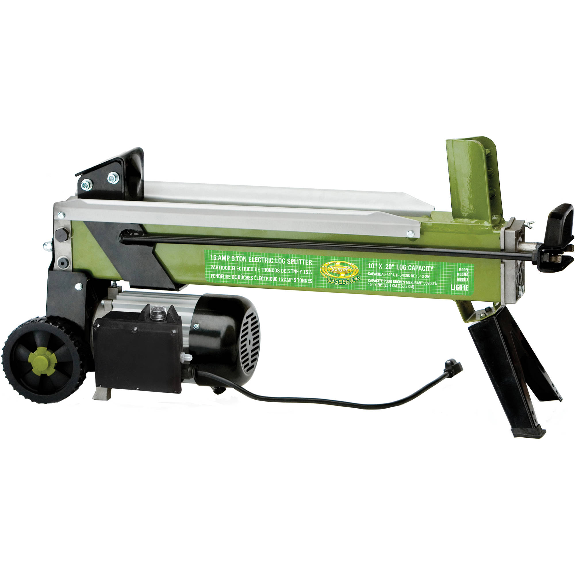 Sun Joe Logger Joe 5 Ton Electric Log Splitter