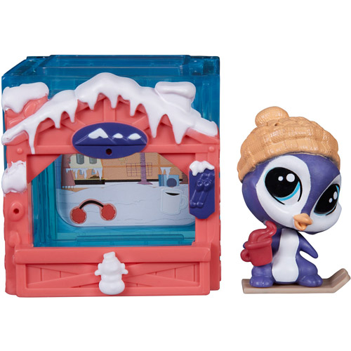 Littlest Pet Shop Mini Style Set Parker Waddleton