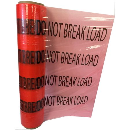 SSBM DO NOT BREAK LOAD Printed Machine Stretch Wrap Roll 20