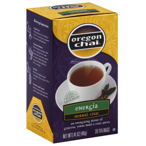 Chai Tea Bags, 20 count, 1.41 oz, (Pack of 6)