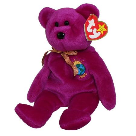 Beanie Baby Display Cases - TY Beanie Baby - MILLENNIUM the Bear (8.5 inch)