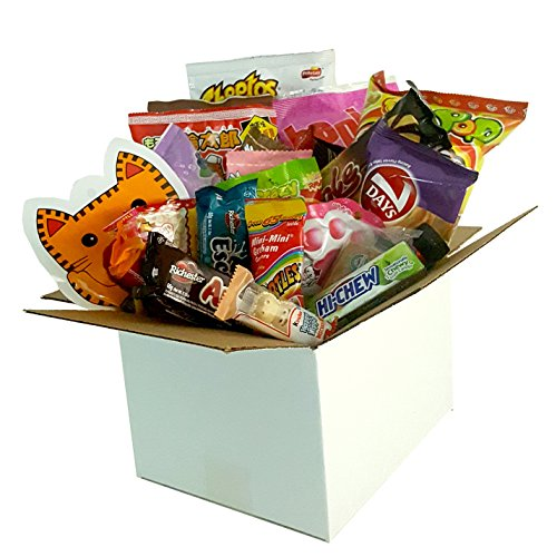 Snack Box from around the world - Care Package (100 Count)