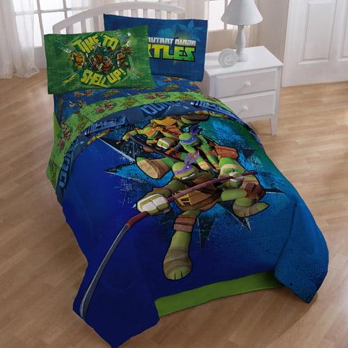 Nickelodeon Teenage Mutant Ninja Turtles Twin or Full ...