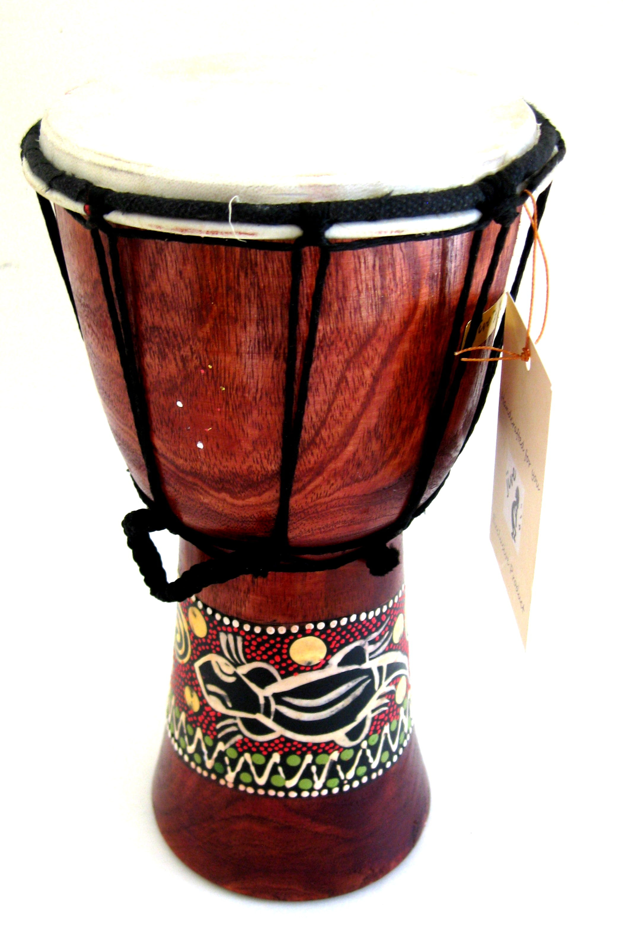 "Djembe Drum- African Percussion Drum, Bongo Hand Drum, 9"" , JIVE BRAND, Professional... by"