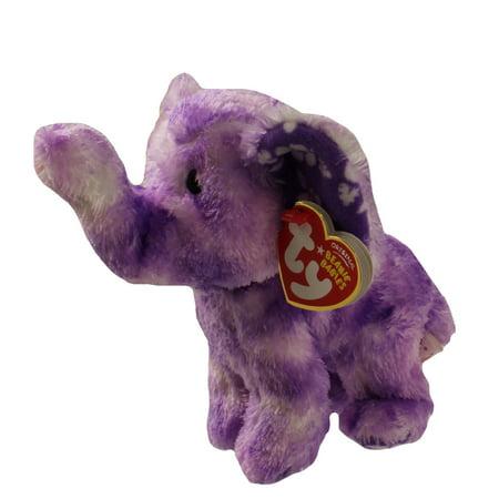 TY Beanie Baby - COASTLINE the Purple Elephant (6.5 (Elephant Ty Beanie Baby)