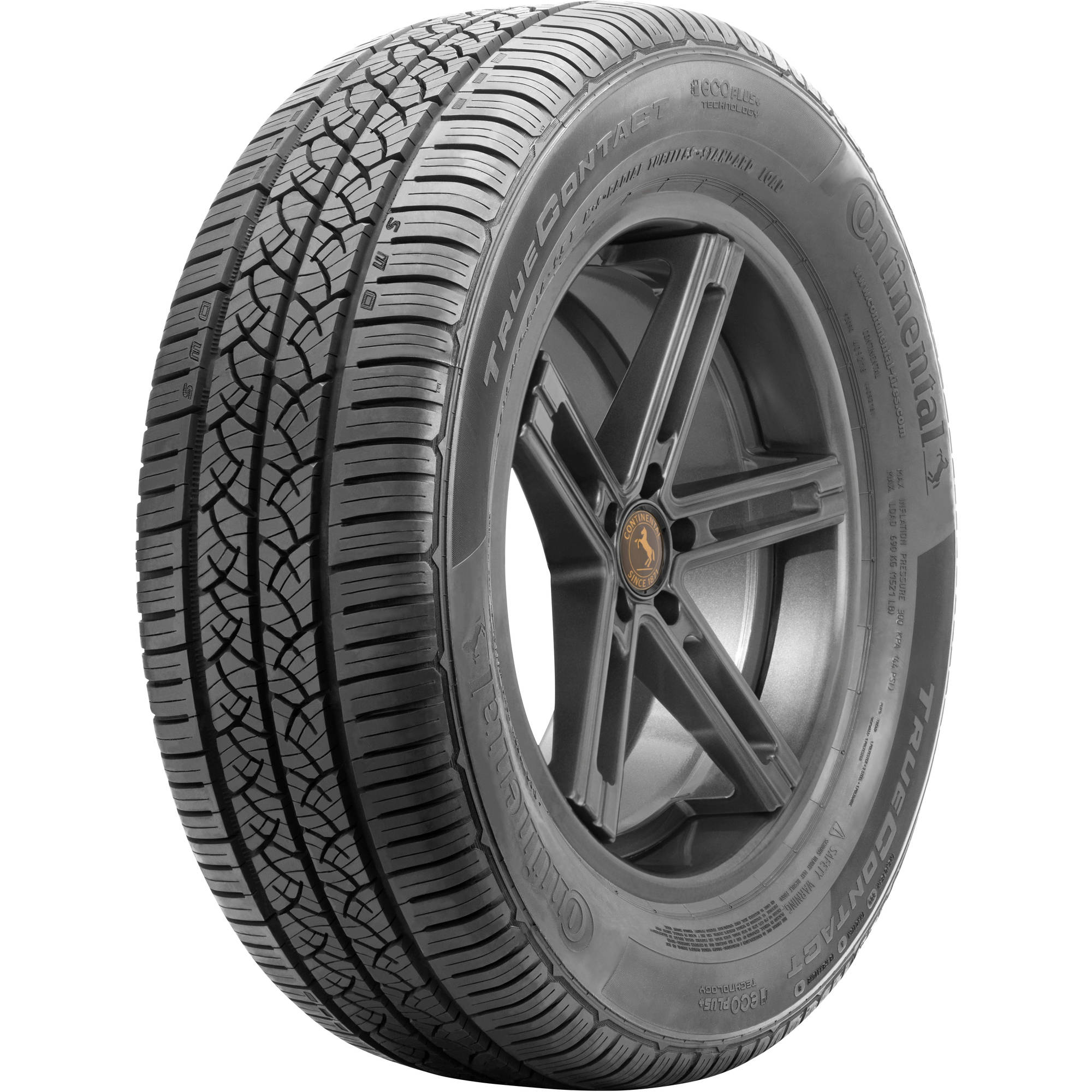 Continental Truecontact Tire 225/65R17 Tire 102T