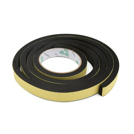 20 x 10mm Single Sided Adhesive Shockproof Sealing Sponge Tape 2M Lenght - image 2 de 2