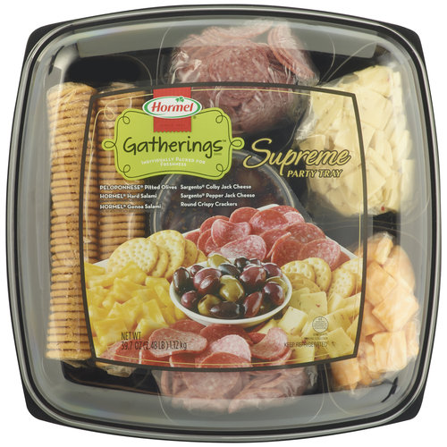 Hormel Gatherings Supreme Party Tray, 39.7 oz