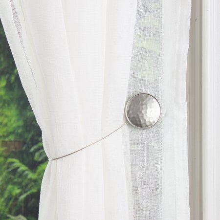 Better Homes & Gardens Reversible Magnetic Curtain Holdback, 1