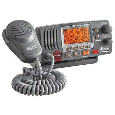 Cobra MRF77BGPSselect Mr F77b Gps Marine Fixed Mount Vhf Radio With Built-in Gps Receiver [black]