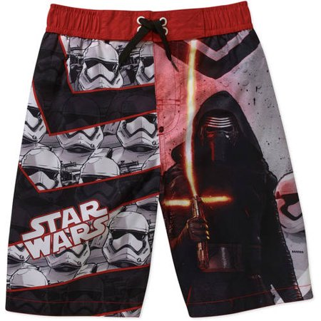 Star Wars Little Boys Episode 7 Kylo Ren Swim Trunks (5/6)