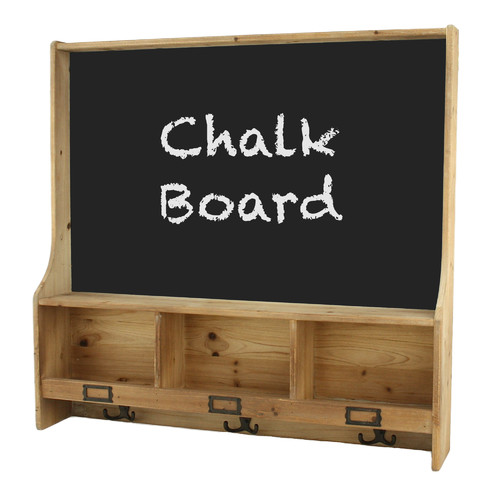 Aspire Cambridge Shelf 2' 5'' x 2' 6'' Chalkboard