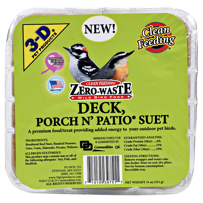 Image of 3d Foods 3d Deck Porch Patio Suet