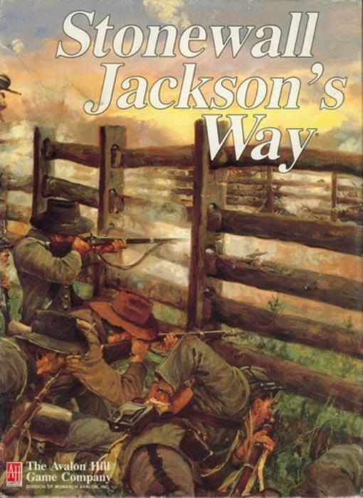 StoNewall Jackson's Way Great Condition by Avalon Hill