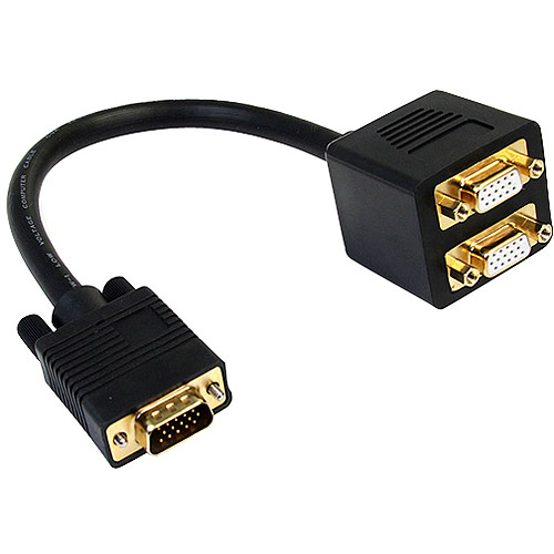 StarTech.com 1' VGA to 2x VGA Video Splitter Cable