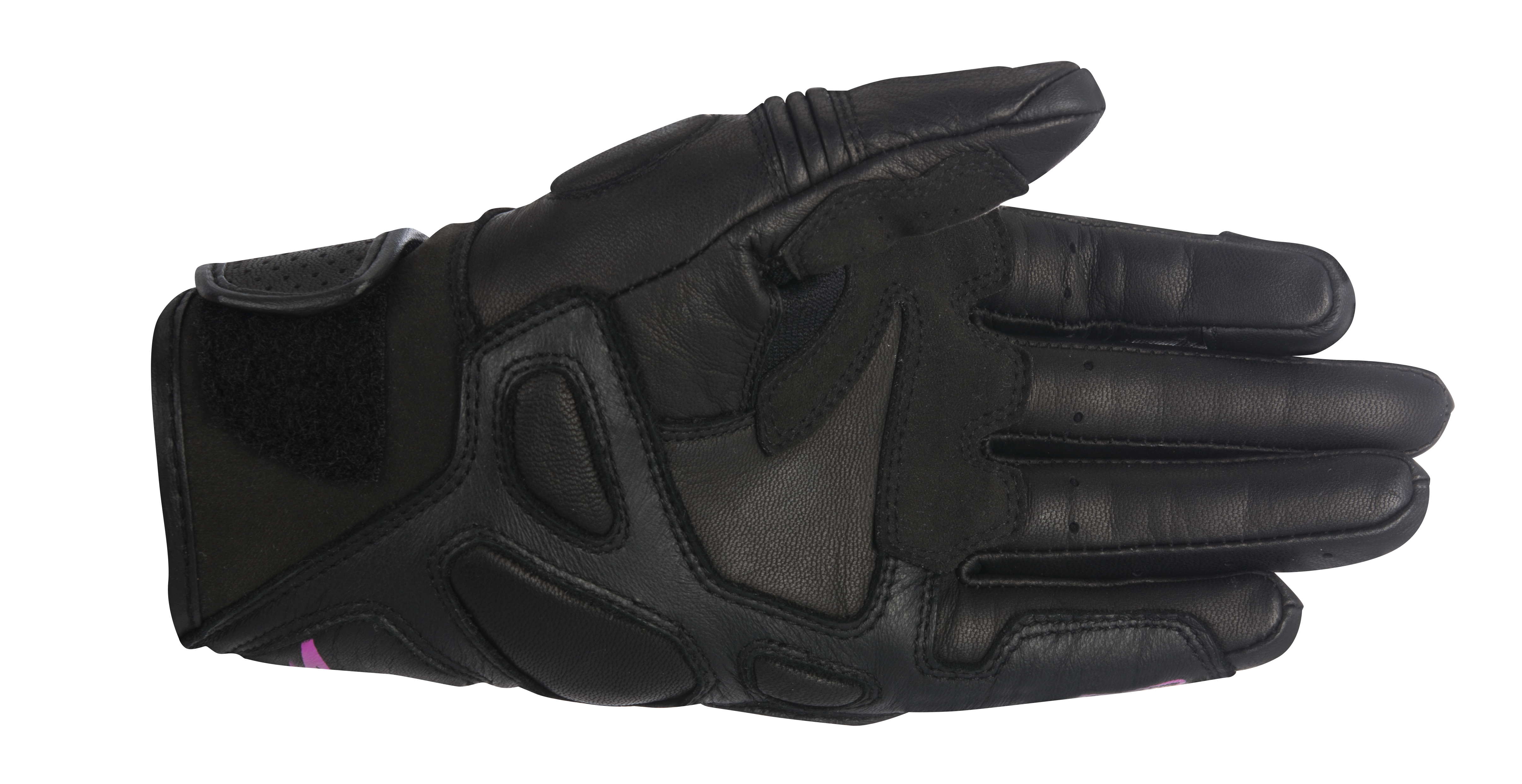 Womens black leather gloves medium - About This Item
