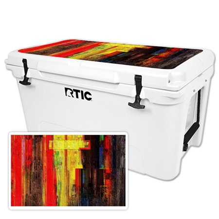 MightySkins Skin For RTIC 20 Cooler (2017 Model) | Protective, Durable, and Unique Vinyl Decal wrap cover | Easy To Apply, Remove, and Change Styles | Made in the USA Elbow Wrap Usa Model