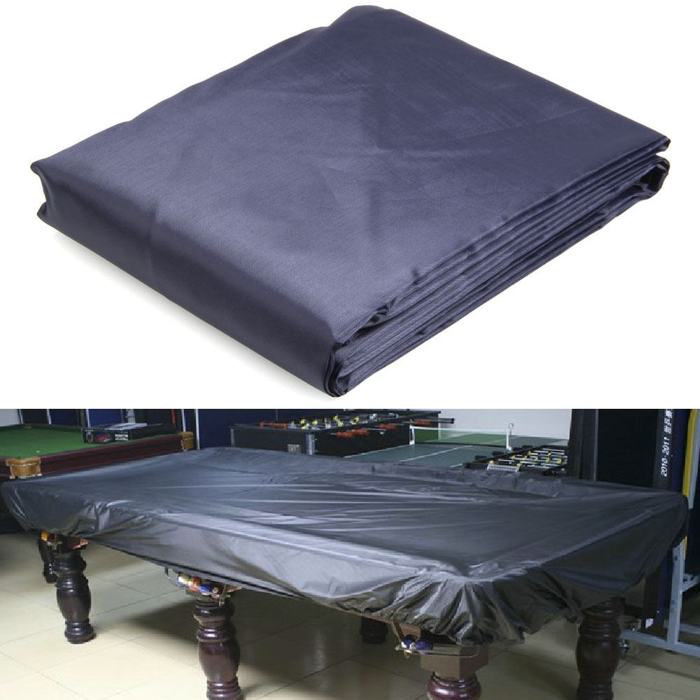 Zimtown 8 Foot Durable Pool Billiard Table Cover Tear Resistant