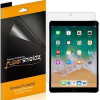 [3-Pack] Supershieldz for Apple iPad Air 10.5 inch (2019) / iPad Pro 10.5 inch Screen Protector, Anti-Bubble High Definition (HD) Clear Shield