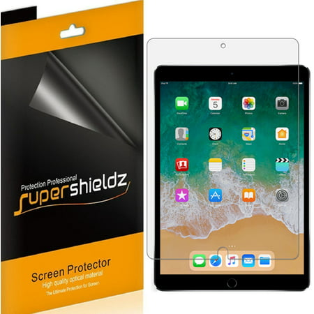 [3-Pack] Supershieldz for Apple iPad Air 10.5 inch (2019) / iPad Pro 10.5 inch Screen Protector, Anti-Bubble High Definition (HD) Clear