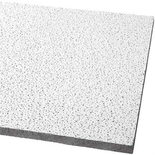 Armstrong Acoustical Ceiling Panel 1728B Fine Fissured Humiguard Plus Square Lay In, 24X24X5/8 In., 16 Per Case
