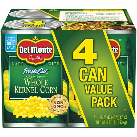 Cut Sweet Potatoes ((8 Cans) Del Monte Fresh Cut Golden Sweet Whole Kernel Corn, 15.25 oz )