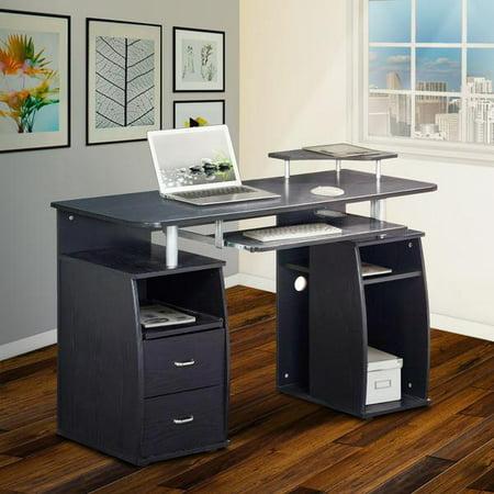 Techni Mobili Complete Computer Workstation Desk With