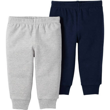 413cfb91e Carter s - Child of Mine by Carter s Newborn Baby Boy 2 Pack Pant -  Walmart.com