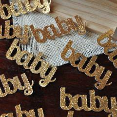 Baby Confetti for Baby Shower Table Decoration 25CT.  Ships in 1-3 Business Days. - Table Confetti