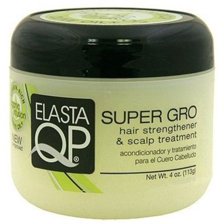 Elasta QP Super Gro Hair Strengthener & Scalp Treatment, 4 oz (Pack of - Africas Best Super Gro