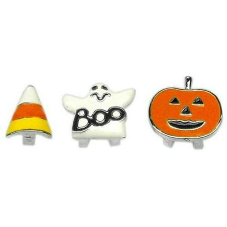 - Mirage Pet Products 10-26 38GST .38 in.  - 10mm Halloween Slider Charms Ghost .38 in.  - 10mm