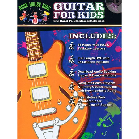 Rock House Guitar For Kids - The Road to Stardom Starts Here Book/DVD/Online - The Party Starts Here