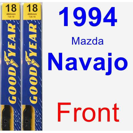 - 1994 Mazda Navajo Wiper Blade Set/Kit (Front) (2 Blades) - Premium