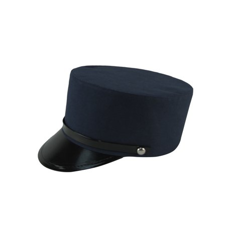 Adult Conductor Hat (Navy Blue Railroad Conductor Hat RR Cap OSFM Adult Costume)