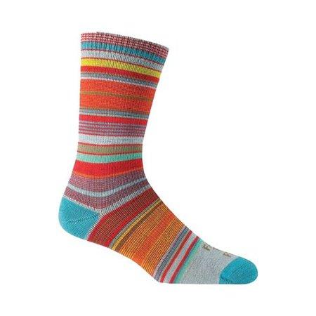 Women's Farm To Feet Ithaca Multi-Stripe Ultralight Crew Sock (2 (Ruger M77 Mark Ii Stock For Sale)