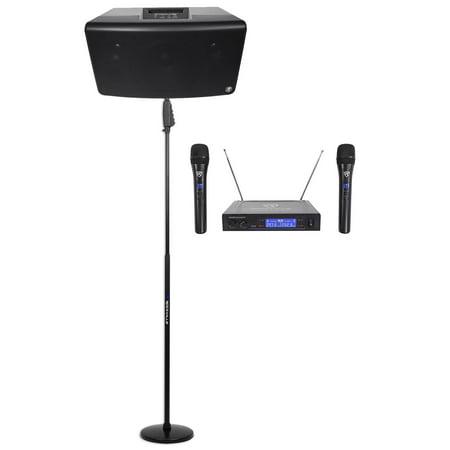Mackie FreePlay Church/School Audio Visual Speaker Sound System+Wireless Mics (Audio Visual)