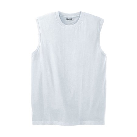 ad1419caad274 Kingsize - Men s Big   Tall Shrink-less Lightweight Muscle Tee ...