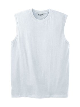 2209c8e595dc53 White Mens Big   Tall T-Shirts   Tank Tops - Walmart.com