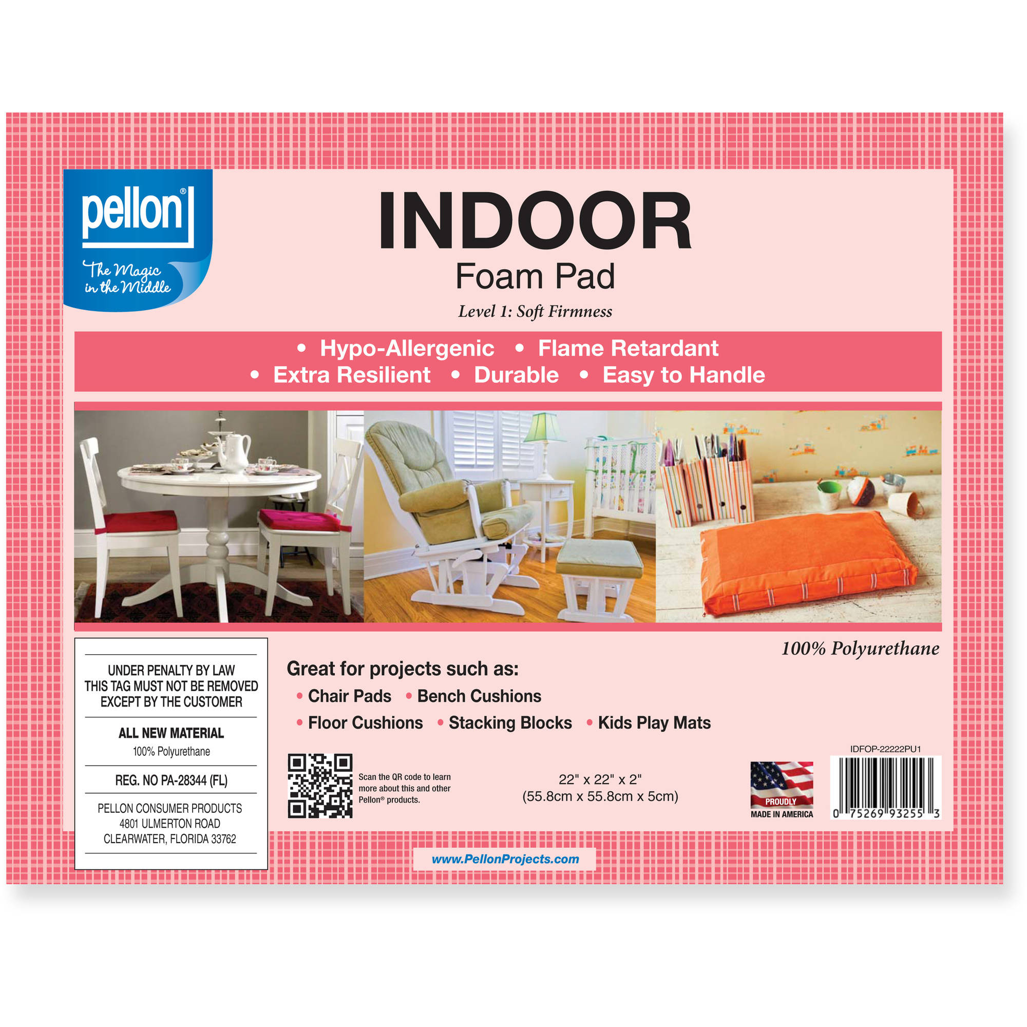 Pellon Indoor Foam Pad