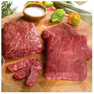 Istilo Lobster Gram FIKOBE6 Six 8 Oz American Kobe Beef Flat Iron Steaks Food and... by GSS