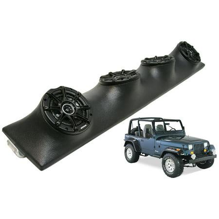 Jeep Wrangler Kicker DSC5 Power Sport Car Audio Speakers Loaded Sound Bar System - Kicker Sound System