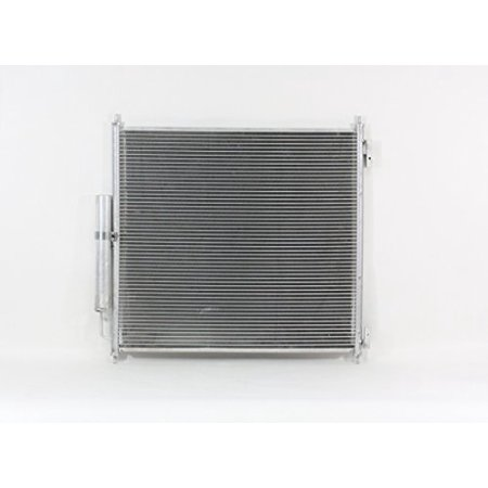 A-C Condenser - Pacific Best Inc For/Fit 4433 13-16 Land Rover Range Rover 14-16 Range Rover Sport w/Receiver &