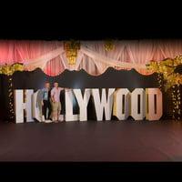 4 ft. 7 in. Hollywood 3D Letter Set